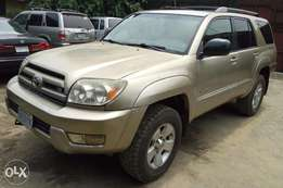Clean Toyota 4Runner with sound engine and headrest DVD