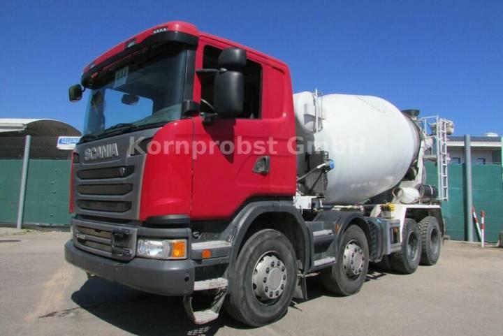 Scania G 400 8x4 BB - INTERMIX 9 m³ - Nr: 444 - 2013