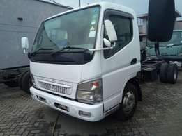 Fuso canter without body