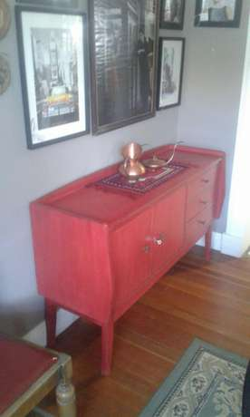 Red Retro sideboard Randfontein - image 4