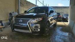 Lexus Rx450 h 2010 model 2012 shape KCN number Loaded with Alloy rim