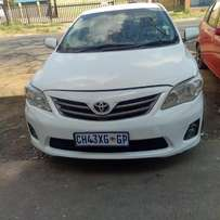 Weekly Special: 2009 Toyota Corolla 1.3L, low km for R85,000.00