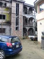 Uncompleted 3nos of 3bedroom flats off peter odili road