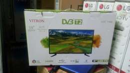 New 19 inch vitron super slim full hd digital tv free to air channels