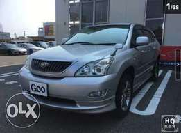 TOYOTA HARRIER Silver colour