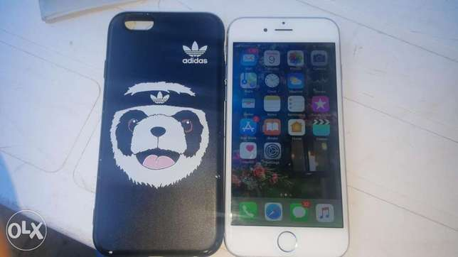 Iphone 6 For Sale !! + free Adidas cover Avenue Park - image 4