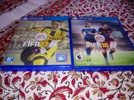 FIFA 17 and 16 (accepting trade)