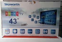 43 inches led sky worth smart tv delivery available