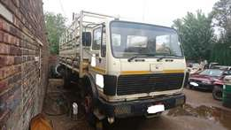 Used Mercedes Benz 1417 8 Ton with Mass Sides for sale