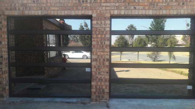 Aluminium doors and windows. Retractable security doors and barriers Secunda - image 7