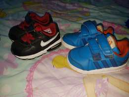 Toddler shoes nike and adidas