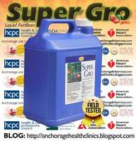 Super Gro; maximizes crop yield by as much as 167%