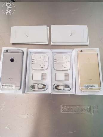 Like New IPhone 6s 64GB - Gold and Gray Jabi - image 1