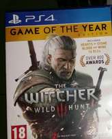 PS4 Game Witcher 3