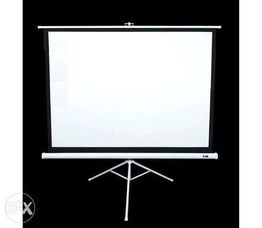 "Tripod Projection Screen for hire sizes 60×60"" to 96×96"" Nairobi CBD - image 1"