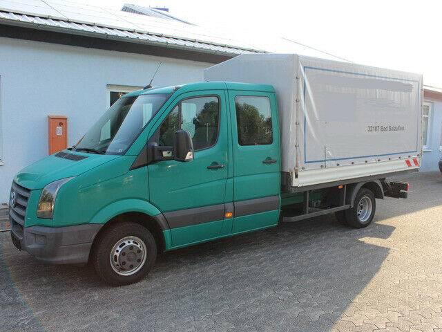 Volkswagen Crafter 50 Doka Maxi 120kw EEV AHK 3500kg - 2010