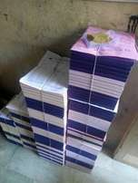 QUALITY Receipts books,Flyers, Brochure, Branding..Many More
