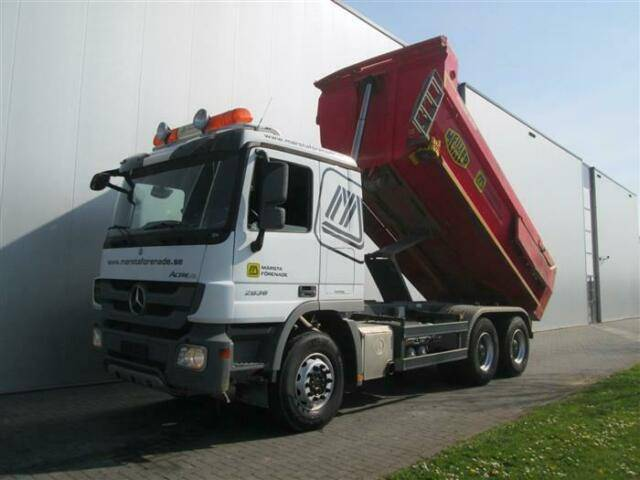 Mercedes-Benz ACTROS 2636 6X4 FULL STEEL HUB REDUCTION EURO 5 - 2011