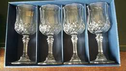 Crystal sherry glasses(P1062/8)
