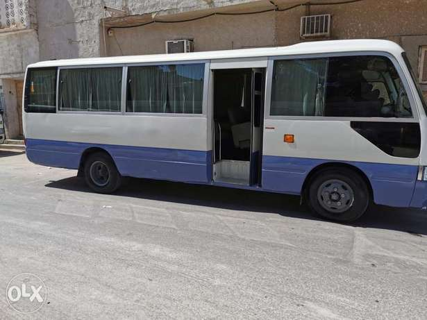 Bus coaster 30 seater for rent with Driver