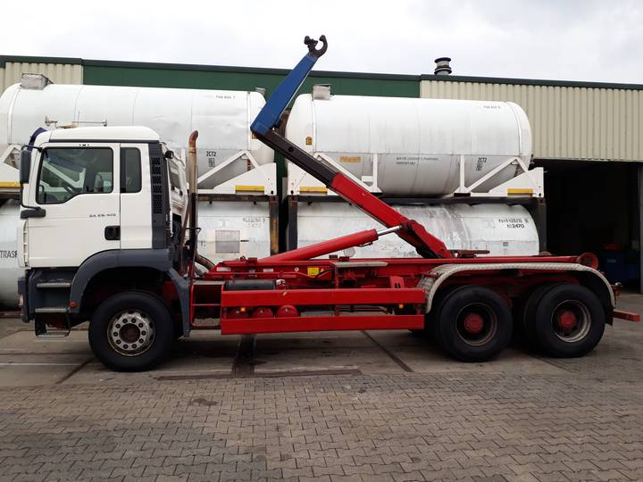 MAN TGA 26.410 Container Truck 6x4
