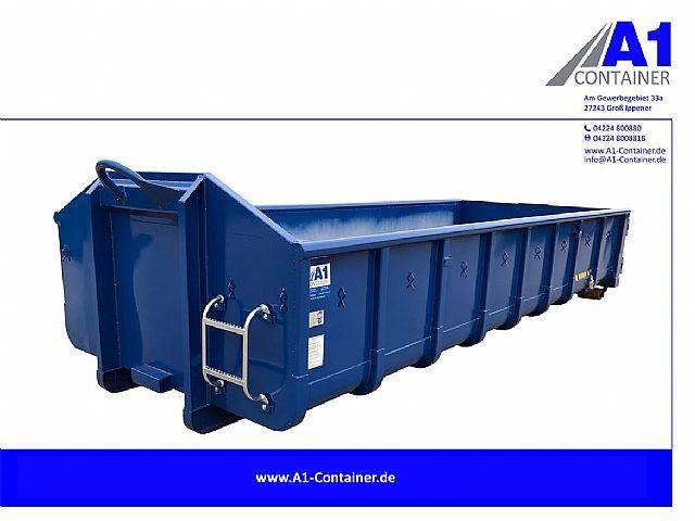 Normbehälter 15 m³ Doppelflügeltür - BLAU - 2019