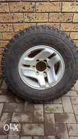 Hilux Tyre and Rim