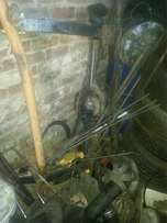 Diff isuzu KB250 No half shafts