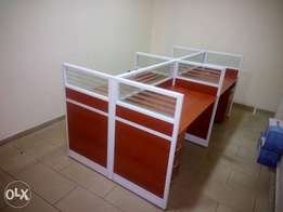 Durable 4-Man Office Workstation