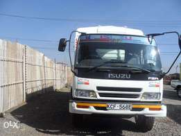 A clean and well maintained Isuzu FSR