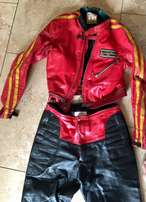 Genuine Vintage LEWIS LEATHERS, UK, Motorbike Jacket & Pants