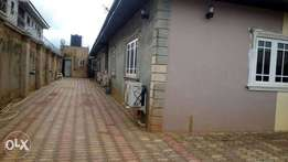 A well built 3bedrooms 2blocks of flat,at Pz road,Benin-City,Edo State