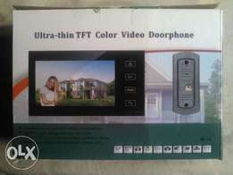 Wired or wireless video and Audio intercom