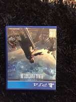 PS4 game final fantasy