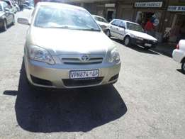 Toyota runx cars for sale r22000