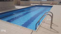 2 BR with Roof Top Pool & Balcony in Shaab
