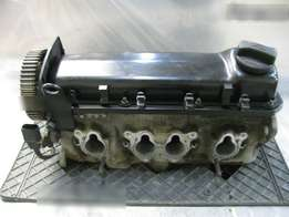 Vw cross flow cylinder head with cam