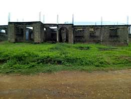 Uncompleted 3Bedroom 2Flats Building at Jinarere, Alakia/Isebo Road