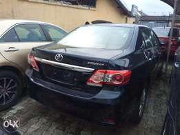 used 2011 corolla bought brand new