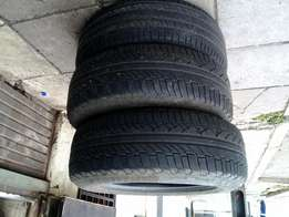 3 ×235 /65 /17 Michelin tyres