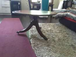 Antique Chesterfield Round Coffee Table for Sale!