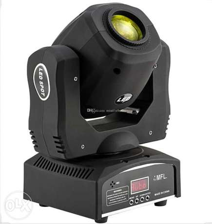 Moving head lighting