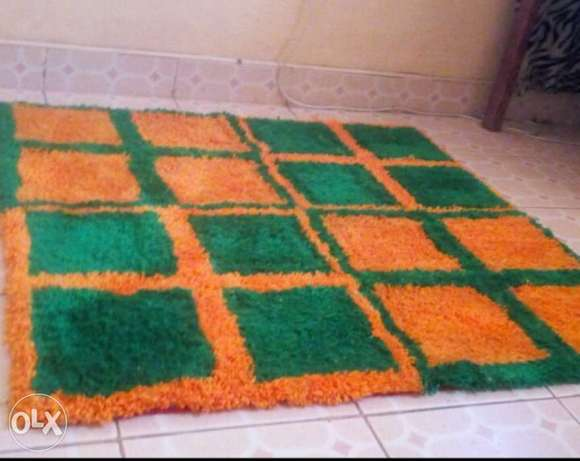 customized beautiful mats .size 1 by 1 m Hamza - image 1