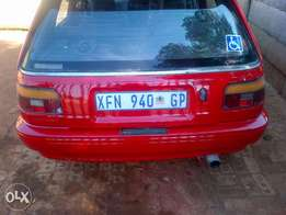 Toyota Tazz in good running condition(urgent sale)