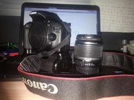 New Canon EOS-550D Rebel-T2i, 18mp, 18-55m With Caring Case