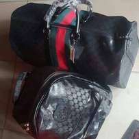 Gucci Duffie bag and back bag