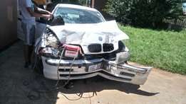 BMW 318i , was in an accident