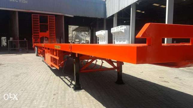 long fleet 3-axle with hydraulic ramps