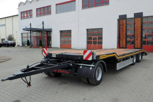 Trailer scorpion low floor  mp161 - 2019