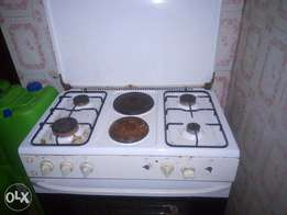 6 burner gas cooker ignis brand, bought brand new